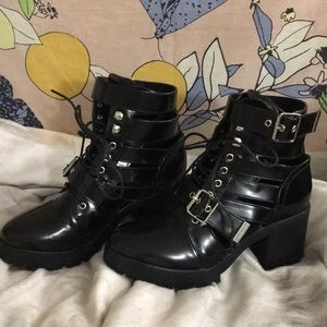 Nastygal Strappy Boots